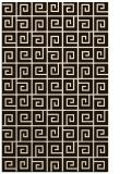 rug #335505 |  brown graphic rug