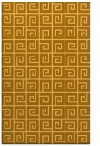 rug #335513 |  light-orange graphic rug