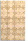 rug #335557 |  light-orange graphic rug