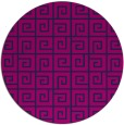 rug #335589 | round blue graphic rug