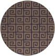 rug #335669 | round beige graphic rug