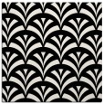 rug #336269 | square white retro rug