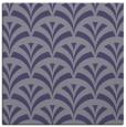 rug #336353 | square blue-violet retro rug