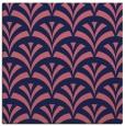 rug #336357 | square blue-violet retro rug