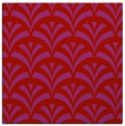 rug #336517 | square red retro rug