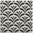 rug #336537 | square black graphic rug