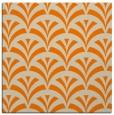 rug #336581 | square orange graphic rug