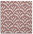 rug #336605   square pink retro rug