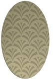 rug #336943 | oval graphic rug