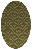 rug #336949 | oval light-green rug