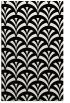rug #336973    black retro rug