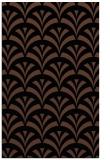 rug #336985 |  brown graphic rug