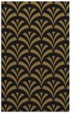 rug #336989 |  mid-brown retro rug