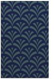 rug #337001 |  blue-green retro rug