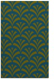 rug #337029 |  blue-green graphic rug