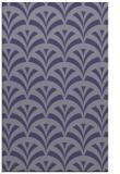 rug #337057 |  blue-violet retro rug