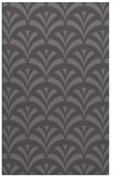 rug #337117 |  mid-brown graphic rug