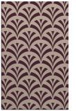 rug #337125 |  pink retro rug