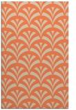 rug #337165    orange graphic rug