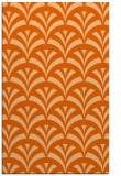 rug #337229 |  red-orange graphic rug