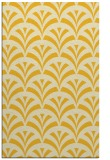 rug #337257 |  yellow retro rug