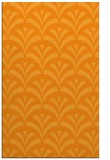 rug #337313 |  light-orange retro rug