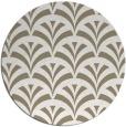 rug #337321 | round beige graphic rug