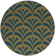 rug #337344 | round retro rug