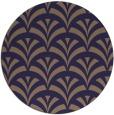rug #337429 | round beige graphic rug