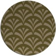 rug #337441 | round mid-brown popular rug