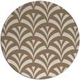 rug #337473 | round beige graphic rug