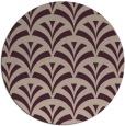 rug #337481 | round retro rug