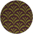 rug #337549 | round purple retro rug
