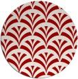 rug #337562 | round retro rug