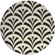 rug #337630 | round graphic rug