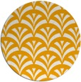 rug #337657 | round light-orange graphic rug