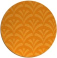rug #337665 | round light-orange retro rug