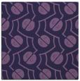 rug #339881 | square purple circles rug