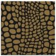 rug #341565 | square mid-brown animal rug