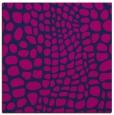 rug #341573 | square blue animal rug