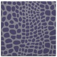 rug #341633 | square blue-violet animal rug