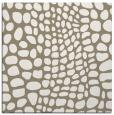 rug #341685 | square white animal rug