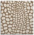 rug #341697 | square mid-brown rug