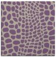 rug #341725 | square beige animal rug