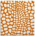 rug #341737   square orange animal rug