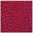 rug #341797   square pink animal rug