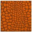 rug #341809 | square red-orange rug