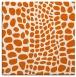 rug #341813 | square red-orange animal rug