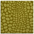 rug #341865 | square light-green animal rug