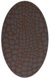rug #341907 | oval animal rug